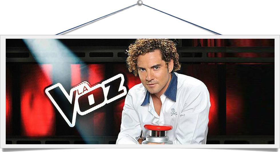 """""""La Voz España"""" - Telecinco ''Gala en Directo''"""