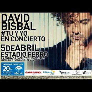 Gira 'TU Y YO' Argentina, Concierto Buenos Aires @ Estadio Ferrocarril Oeste | Olavarría | Buenos Aires | Argentina