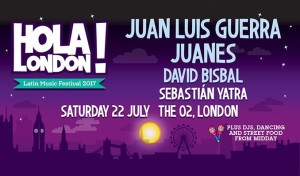 Concierto LONDRES, Latin Music Festival Hola! London, 22 Jul '17 @ The O2 arena, Londres | England | Reino Unido